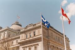 Montreal City Hall (nroclaniffirg) Tags: film analog port gold kodak montreal vieuxport