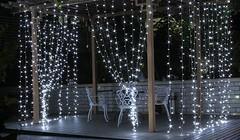 Christmas Party White Garden String Lights (Ikuzo Home) Tags: christmas ledlight
