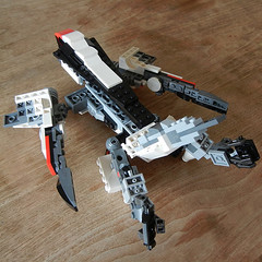 DSCN6675 (alfa145q_lego) Tags: lego legocreator vehicletransporter 31033 alternate futureflyers 31034 mecha rebuild