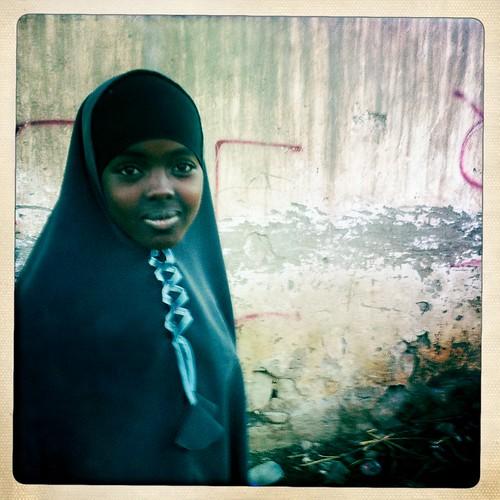 Girl in Boroma thru Iphone Hipstamatic - Somaliland