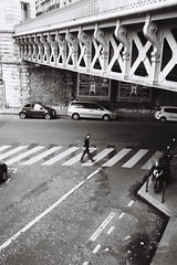 5 minutes (Airicsson) Tags: street leica urban blackandwhite bw paris analog 35mm vintage summicron m6 blackwhitephotos