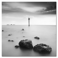 Losing Hope (arabischenab) Tags: longexposure sea lighthouse seascape rock landscape laut malaysia batu schneider pasirpanjang nikond700 nikkor1835mm3545difed leefilter09soft