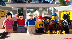Day 334 (chrisofpie) Tags: chris pie monkey lego doug legos hero heroes minifig roger minifigure bluehat legohero chrisofpie rogeranddoug 365legos dougthechimp