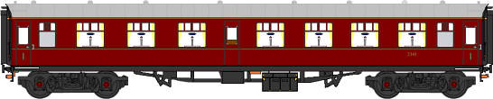 Graphic - Heritage First Class carriage for charter trains