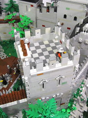 LLOA - Guard Tower Exterior (vdubguy67') Tags: city tree castle classic town war king lego fort interior space contest battle queen knight siege moc afol