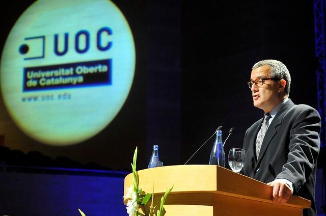 Graduació UOC del curs 2010-2011 a Barcelona