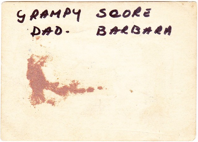 Family - Barbara Sam and Grampy Score 02