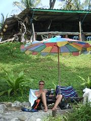 Lah Bay (deeuutee) Tags: umbrella kohrachayai