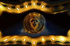 Look into my eyes (Timothy A.V.) Tags: carnival horse coneyisland lights lion carousel curacao knight armour shining knightinshiningarmour
