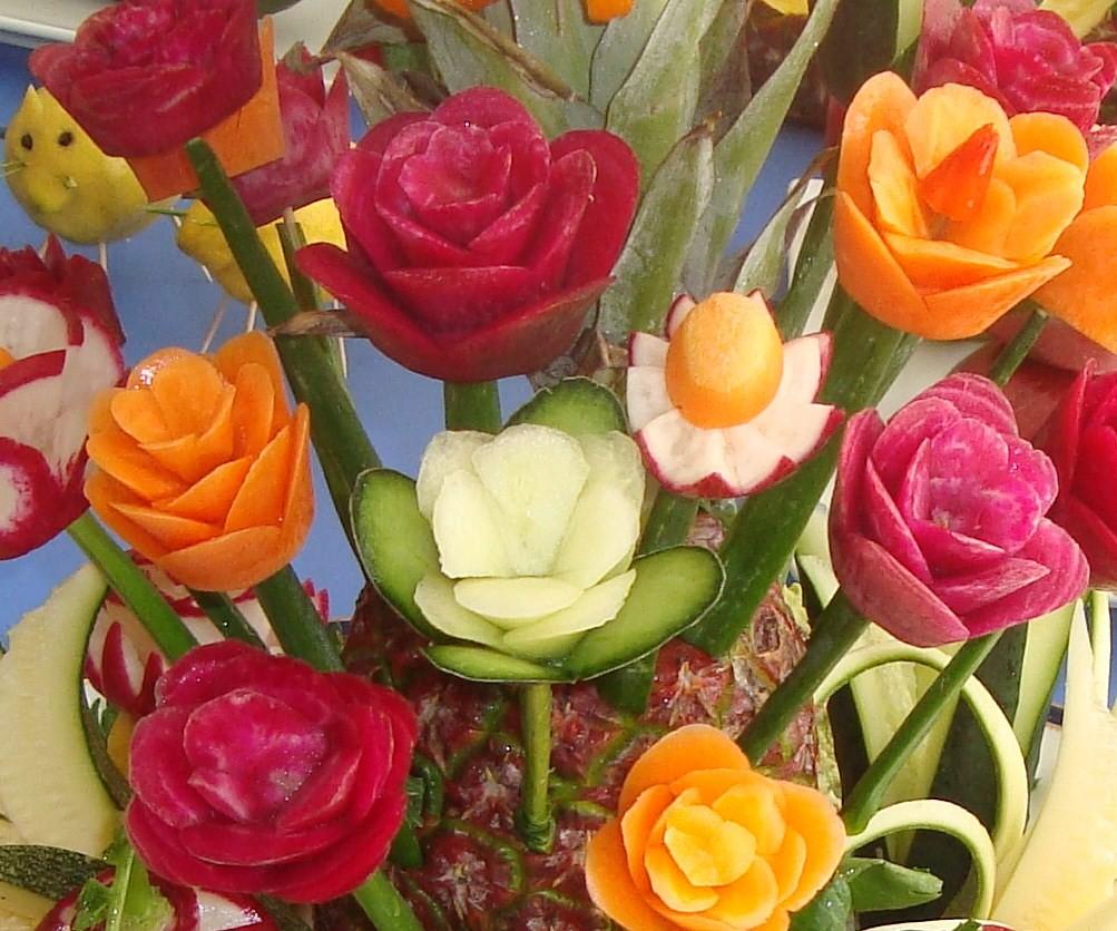 The world 39 s best photos of tallado and vegetales flickr - Decoracion de frutas ...