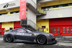 Ferrari 599XX Reventon #20 (Raphal Belly) Tags: red black cars car del racetrack matt rouge photography eos grey photographie 21 corse xx duo ferrari belly exotic 7d enzo passion programs 20 raphael groupe rb evo autodromo supercars combo clienti noire raphal mugello finali 599 2011 fxx reventon evoluzione grise programmes mondiali anciaux egarage 599xx egaragecom