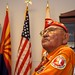 Navajo Code Talker Joe Vandever Sr. listens to Rep. Gosar's opening remarks honoring the Navajo Code Talkers today in the house chamber.  Dec. 7. 2011. Photo by Jared King / NNWO  This Navajo Nation Washington Office photograph is being made available only for publication by news organizations and/or for personal use printing by the subject(s) of the photograph. The photograph may not be manipulated in any way and may not be used in commercial or political materials, advertisements, emails, products, promotions that in any way suggests approval or endorsement of Navajo Nation President Ben Shelly or Vice President Rex Lee Jim.