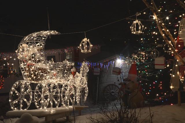 Royaume du père Noël 2011 4 Le carosse du Seigneur des neiges