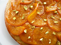 Olive Oil Cake with Candied Orange (pastrystudio) Tags: cake dessert spice pastry oranges oliveoil semolina cardamom