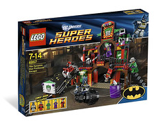 6857-The Dynamic Duo Funhouse Escape (LEGO Toy Story News) Tags: lego superhero exclusive 2012 legosuperhero legosuperhero2012