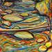 Fall Run - Massawepie, oil on canvas. Artist: Nancy Brossard