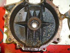 Left case (skinnysye) Tags: cafe engine racer bsa b31 400cc