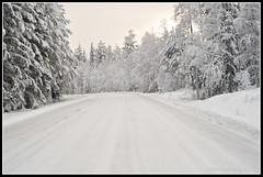 Road (mmoborg) Tags: winter snow vinter sweden transport transportation sverige snö dalarna 2011 mmoborg mariamoborg