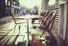 lunch break (In Memory Lane~) Tags: street winter london sunshine 35mm chair mark ii flare 5d farringdon 35l