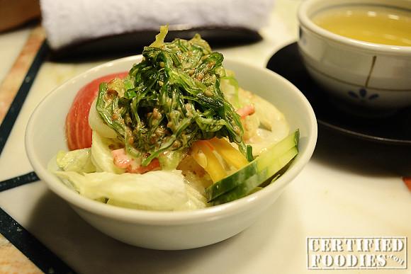 Yurakuen Seaweed Salad