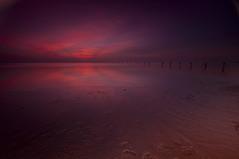 Tranquil Skies_DSC8622 (antelope reflection) Tags: sunset reflection water colors clouds utah antelopeisland greatsaltlake posts nikond90