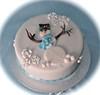 Snowman cake (Cakes by Sonja) Tags: christmascake snowmancake richfruitcake cakesbysonja
