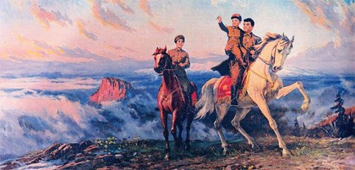 kim-jong-il-propaganda-posters-01-father-mother-horses-560x268