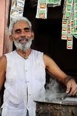 Chacha, Jaipur's best chai brewer / India (anji) Tags: india jaipur