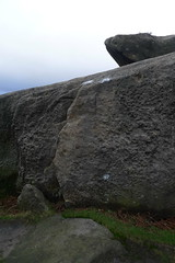 Big Flake on The Tank (ian2707) Tags: peakdistrict bouldering burbage thetank burbagesouthboulders bigflake