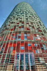 Torre  Agbar Tower, Barcelona (Spain), HDR (marcp_dmoz) Tags: barcelona espaa tower glass architecture photoshop concrete spain arquitectura nikon aluminum torre symbol map catalonia led handheld architektur catalunya nikkor shape 1735mmf28d turm tone glas hdr catalua spanien aluminium vidrio beton hochhaus agbar forma aluminio simbolo hormigon jeannouvel katalonien photomatix tonemapped tonemapping tonemap d700 b720arquitectos gettyimagesiberiaq3