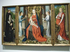 Master of the St Lucy Legend Triptych (before 1483)