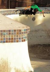 Jonathan Morefield (David Morefield) Tags: pool backyard skateboarding jonathan skating bowl carve thrasher gnar slasher morefield