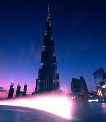 Burg Khalefa (alkhaledi) Tags: sea reflections borg uae 5d burg 2012 highest دبي الامارات 2011 khalefa alkhaledi