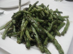 Szechuan Flash Fried Green Beans / Ginger & Garlic (TrackBelle) Tags: chinesefood szechuan gingergarlic