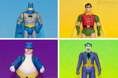 260/365 (_Codename_) Tags: blue green robin yellow toy toys penguin purple collection actionfigures tophat batman joker kenner dccomics monocle superpowers thejoker 365project