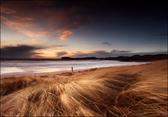 Oldshoremore Beach (angus clyne) Tags: ocean road new uk winter light sunset sea wild sky cliff sun snow seascape storm west art beach water rock set photoshop dark bag print landscape island coast scotland pier sand surf wind time angus cove tide dune year north picture scottish spray highland croft frame gras sutherland clyne marram newvision kinlochbervie oldshoremore maram colorphotoaward vertorama peregrino27newvision