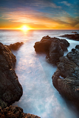 This Image Is Not Free (Extra Medium) Tags: ocean california sunset orange rocky malibu foam venturacounty gss pacificcoasthighway singhrayrgnd geoffssecretspot lee6gndhard