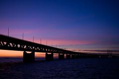 bro III (n3w7) Tags: sunset bro bron solnedgng resund resundsbron oresundsbron
