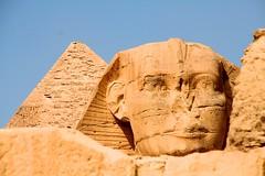 Great Sphinx of Giza (VirginiaBreedlove ) Tags: sphinx egypt pyramids giza egypte gizeh piramiden caïro