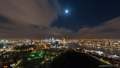 Rotterdam ultra wide! / Euromast (zzapback) Tags: city urban panorama moon holland robert netherlands dutch clouds de lights rotterdam nikon europa europe long exposure fotografie view angle pano wide nederland wolken sigma le ultra 1224mm graden stad dg euromast 122 degrees maan voogd rotjeknor vormgeving groothoek grafische hsm d700 bergselaan liskwartier f45f56 zzapback zzapbacknl robdevoogd stayawakeenjoyyourday