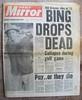 DAILY MIRROR (old school paul) Tags: vintage newspaper bingcrosby 1977 frontpage dailymirror