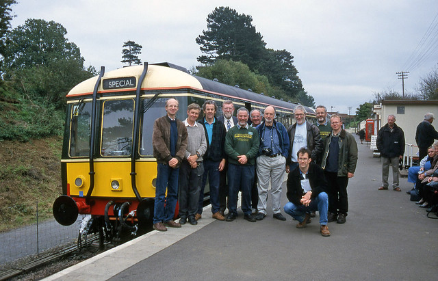 Phoenix Railway Photographic Circle group shot at Pitsford & Brampton