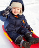 Photo-a-day #364: December 30, 2011 - Ian Sledding