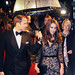 Duke of Cambridge Prince William and Catherine, Duchess of Cambridge, aka Kate Middleton at Odeon, Leicester Square, London, England