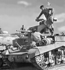 Stuart Tank (M3) (MikeLane) Tags: army memorial war egypt ww2 tanks worldwar2 shermantank alamein royaltankregiment rtr tankbattles leedsrifles stuarttank tankregiment tankinfantrymk1