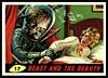"Mars Attacks #17 ""Beast and the Beauty"" (cigcardpix) Tags: mars vintage advertising comic graphic ephemera fantasy horror sciencefiction attacks reprint tradecards gumcards"