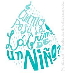 Cuánto pesa una lágrima? (~ tilde ~) Tags: illustration handlettering ilustración caligrafía