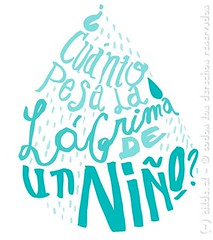Cunto pesa una lgrima? (~ tilde ~) Tags: illustration handlettering ilustracin caligrafa