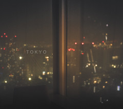 (skidu) Tags: reflection window glass rain lost tokyo bokeh hills translation roppongi in
