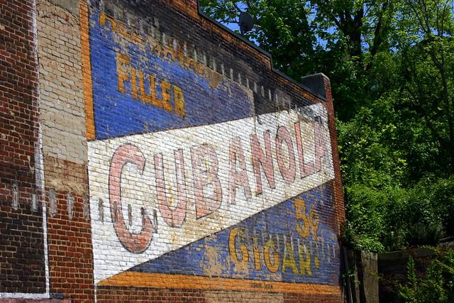 Cubanola Cigar Wall Ad - Radford, VA